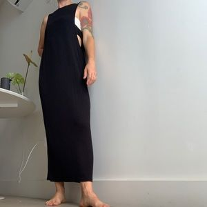 ASOS maxi dress with side cut outs